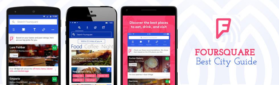Foursquare - Best City Guide