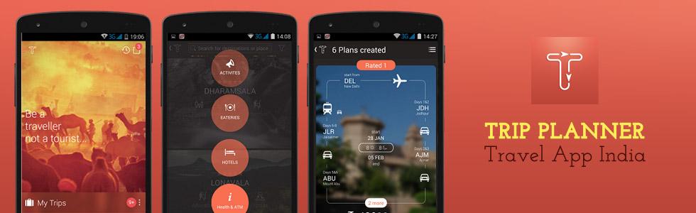 Trip Planner: Travel App India
