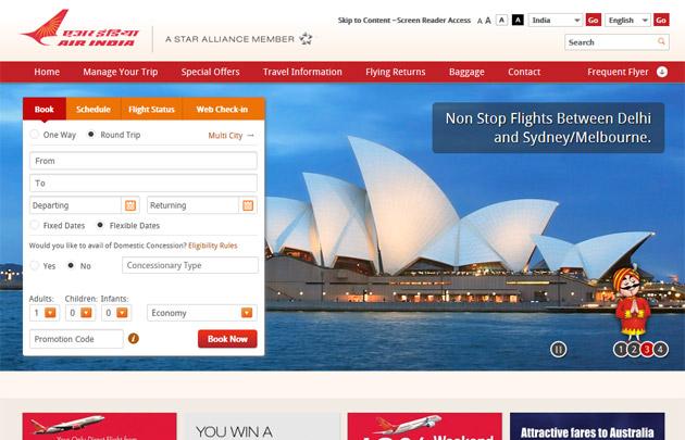 Air India Portal