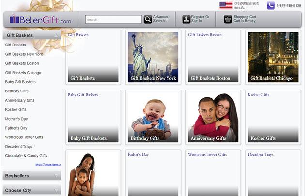 Gift Webshop