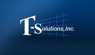 t solution logo
