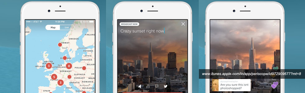 Periscope ios app