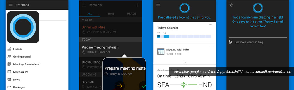 Cortana Android App
