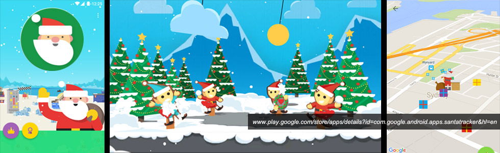 Google Santa Tracker 2015 android app