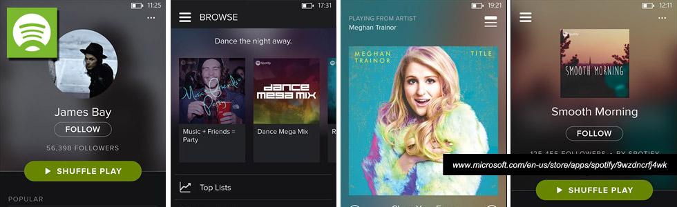 Spotify Windows Mobile App
