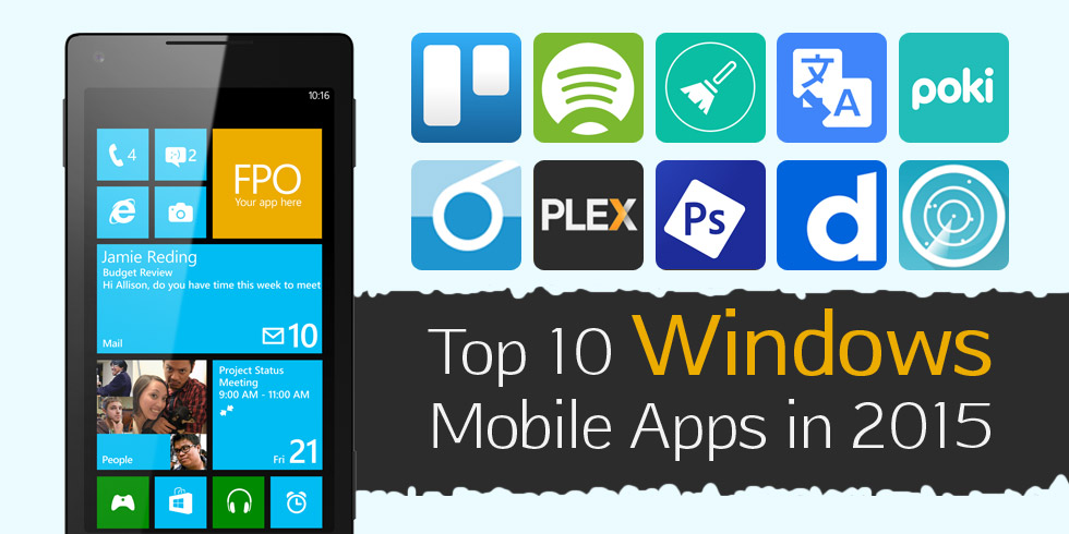 Top 10 Windows Mobile Apps in 2015