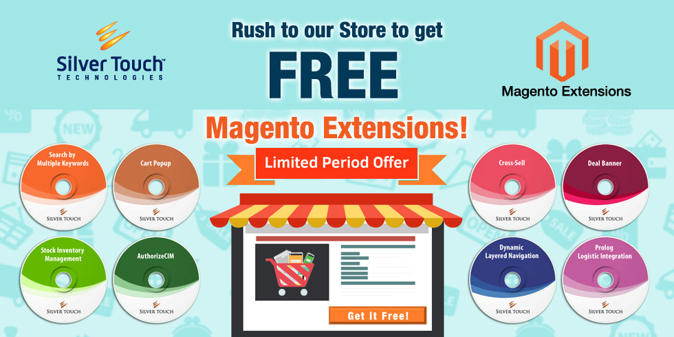 Silver Touch offers free Magento Extensions