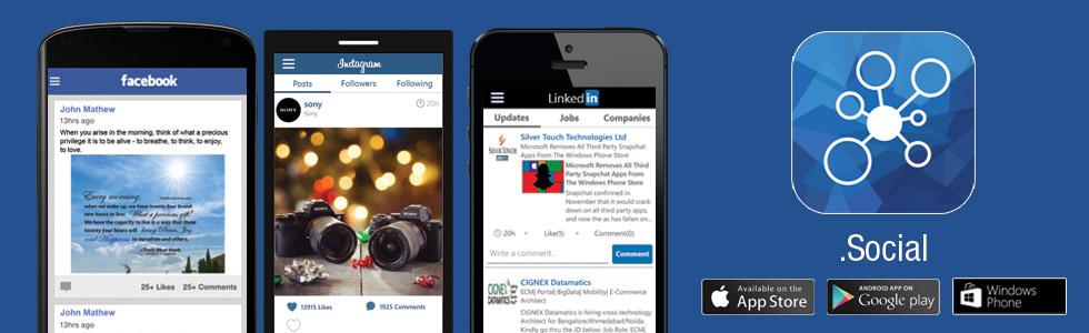 .Social Mobile App