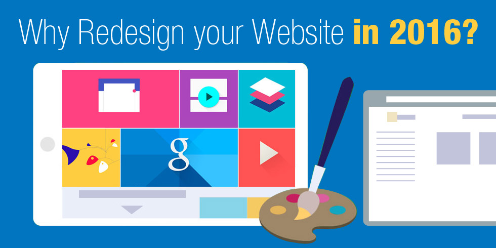 Why Redesign your Website in 2016?