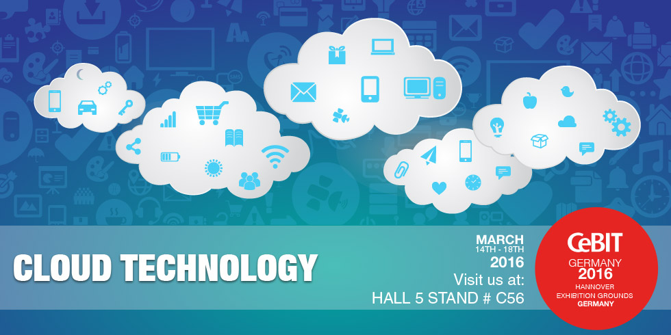 CLOUD to dominate Technology Trends at CeBIT-2016