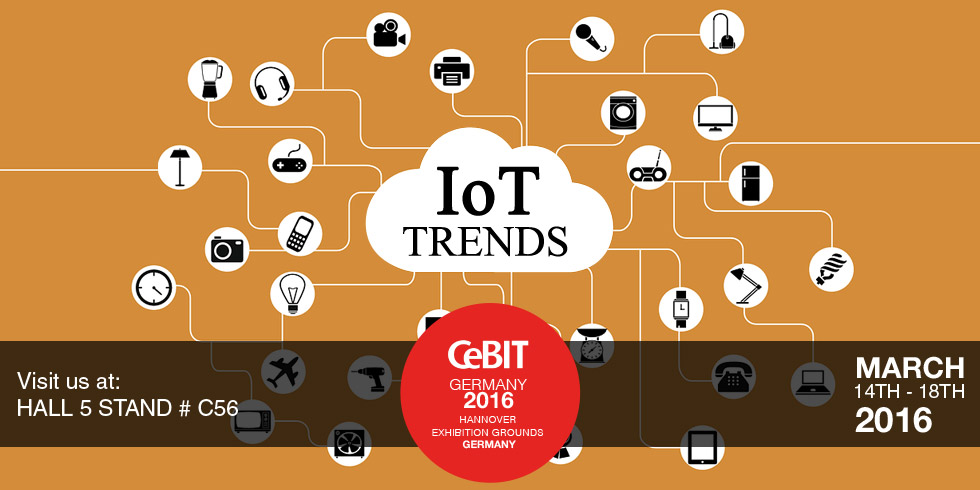 IoT Trends at CeBIT 2016