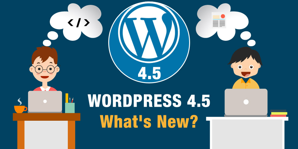 Wordpress Version 4.5
