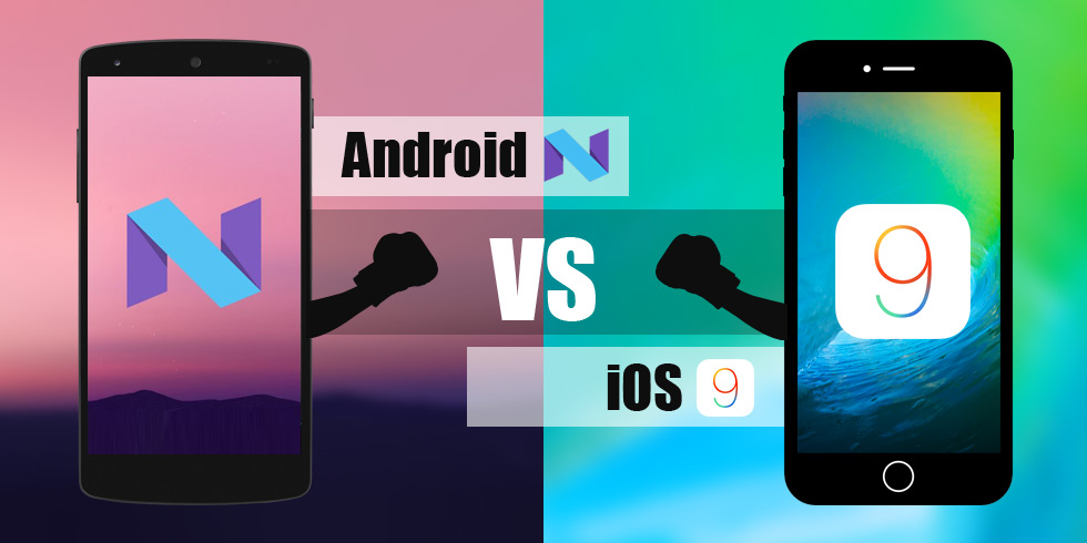 Android N vs. iOS9 A Comparison