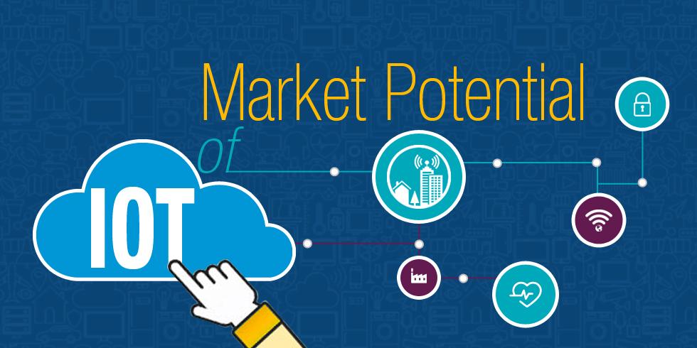 Market Potential of IoT: A Glimpse into Future