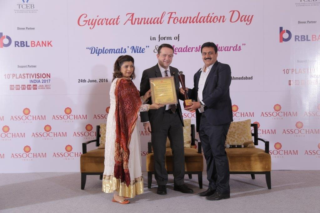 Silver Touch Awarded Most Promising IT Company of India by ASSOCHAM Gujarat Chapter