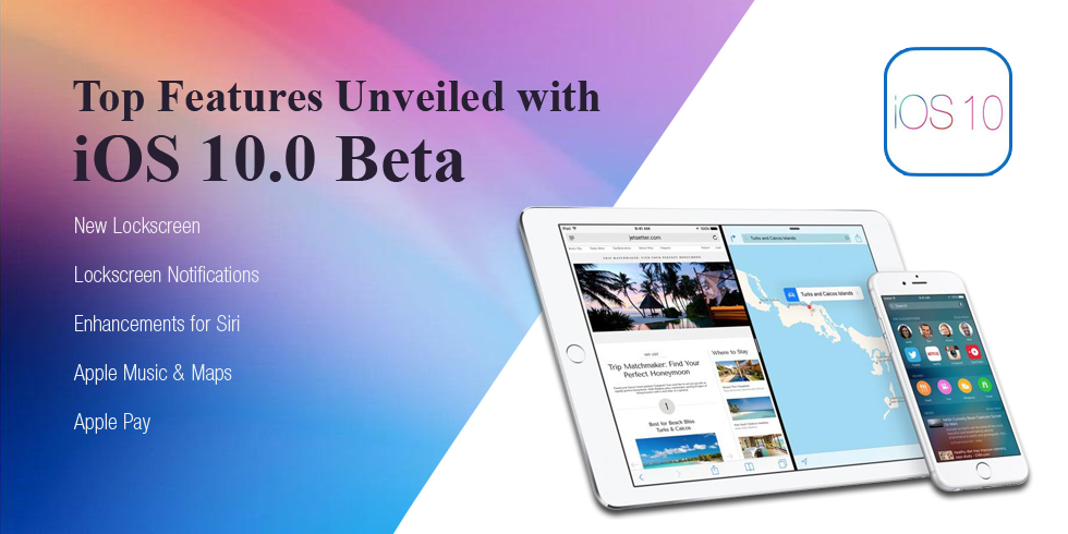 Top Features Unveiled with iOS 10.0 Beta