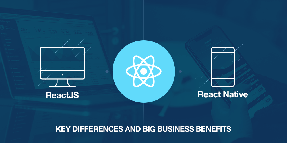 Difference between ReactJS and React Native