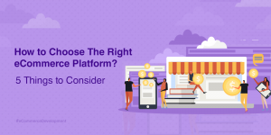 5 Things to Consider While Choosing An eCommerce Platform