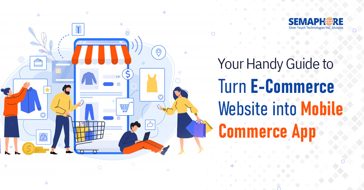 convert your ecommerce store into m-commerce app